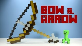 getlinkyoutube.com-Minecraft Bow and Arrow Toy Launcher from Mattel