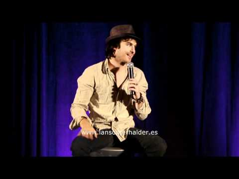 11/06/2011 'Bloody Night Con' (Bcn) Panel Ian parte 2