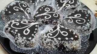 getlinkyoutube.com-حلويات العيد 2016 | حلوة القلوب بالشكولاطة من قناة | Aya Acil TV