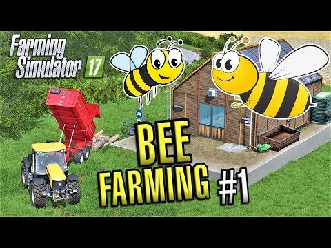Farming Simulator 2017 | BEEKEEPING #1 | Sandy Bay | Episode 12