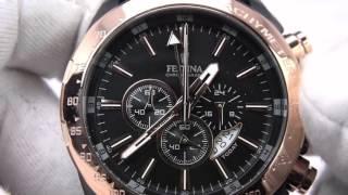 getlinkyoutube.com-FESTINA F16899/1 Sport Prestige Chronograph
