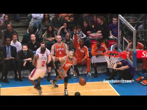 Vince Carter High Flying Dunk on Knicks