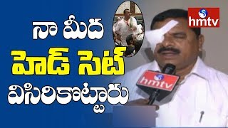 TRS Swamy Goud Face To Face On Assembly Incident | Telugu News | hmtv News
