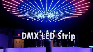 getlinkyoutube.com-DMX LED Strip by SIRS-E Installed at Shine Club McAllen TX