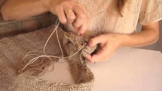 getlinkyoutube.com-DIY Como hacer un bolso con un saco