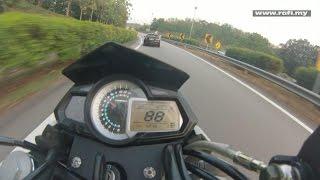 getlinkyoutube.com-Benelli TNT 300 Top Speed