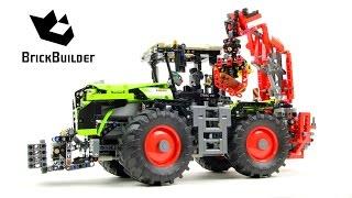 getlinkyoutube.com-Lego Technic 42054 CLAAS XERION 5000 TRAC VC - Lego Speed build