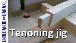 getlinkyoutube.com-How to make a router table tenoning jig