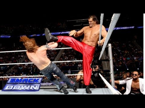 The Great Khali vs. Heath Slater: SmackDown, June 14, 2013