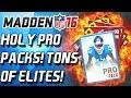 PRO PACKS ARE ON FIRE! SUPERBOWL VON MILLER! - Madden Mobile - CULLENBURGER