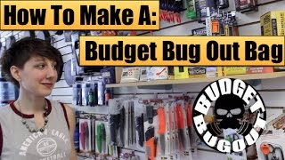 getlinkyoutube.com-Making A Budget Bugout Bag [$100] | Buying Survival Kit Items -- Budget Bug Out 2015