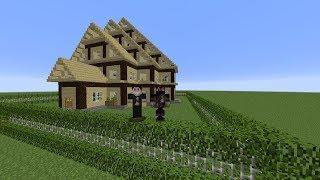 getlinkyoutube.com-MINECRAFT Jak zrobić ładny domek/How to build a nice house #3