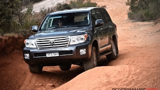 getlinkyoutube.com-2015 Toyota LandCruiser Sahara V8 diesel review (POV)