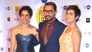 Aamir Khan With His Daughters/Actress In DANGAL Movie - Geeta & Babita