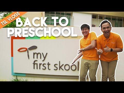 CHRIZI GOES BACK TO PRESCHOOL! | TSL Vlogs | EP 43