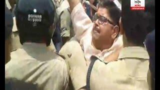 पूर्व CM  भगत सिंह कोशयारी को किया पुलिस ने गिरफ्तार, भाजपा समर्थकों ने किया हँगामा
