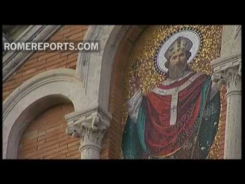 Canadian Cardinal Thomas Collins takes possession of St  Patrick's Church in Rome