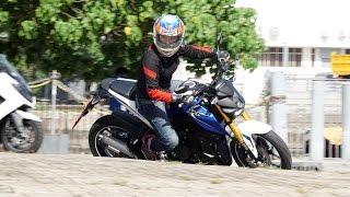 getlinkyoutube.com-2016 Yamaha M-Slaz 150 / MT-15 本地試騎