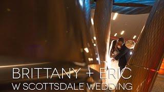 Brittany + Eric W Hotel Scottsdale Arizona