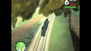 getlinkyoutube.com-GTA San Andreas : Best Train Crash
