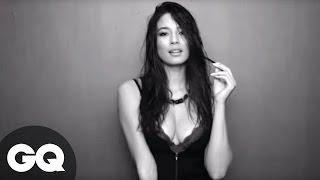 getlinkyoutube.com-Jessica Gomes Strips Down For GQ Australia Photoshoot