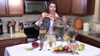 High Quality Organics\' Fall Infused Waters Recipes