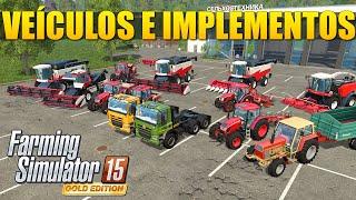 getlinkyoutube.com-Farming Simulator 2015 Gold Edition - Mostrando Veículos e Implementos