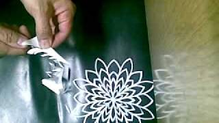 getlinkyoutube.com-make paper snowflakes
