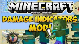 getlinkyoutube.com-DAMAGE INDICATORS MOD PARA MINECRAFT PE 0.13.0 l Mods Para Minecraft PE 0.13.0