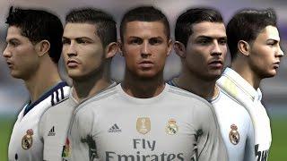 getlinkyoutube.com-Cristiano Ronaldo from FIFA 04 to 16 (Face Rotation and Stats)