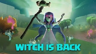 getlinkyoutube.com-Clash Of Clans   Witch Is Back: Govawitch Strategy For Town Hall 9