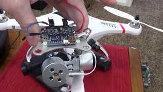getlinkyoutube.com-How to install a cheap 2d brushless metal gimbal on a Cheerson CX-20 (aka 'Quanum Nova') quadcopter