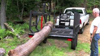 getlinkyoutube.com-Firewood Log Trailer