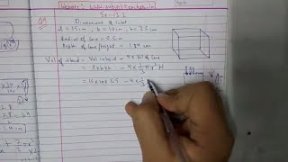 Chapter 13 Exercise 13.2 (Q4 Q5) Surface areas and volumes Class 10 Maths NCERT