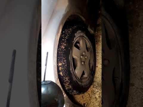Замена приводных пыльников и пыльников рулевых тяг на Субару Легаси 2000г