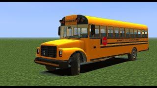 getlinkyoutube.com-Come costruire uno scuolabus su Minecraft