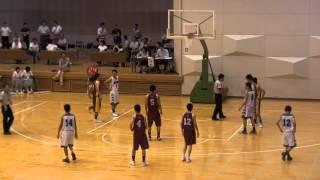 getlinkyoutube.com-2015年 中学バスケ 九州大会 西福岡 vs 別府北部 4Q