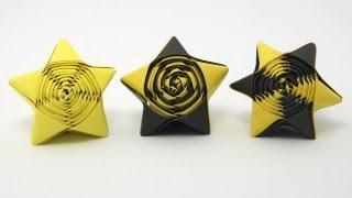 getlinkyoutube.com-Origami Straw Star
