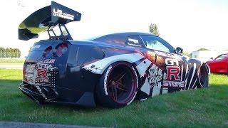 getlinkyoutube.com-Nissan GT-R Liberty Walk LB Performance w/ iPE Exhaust!