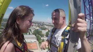 getlinkyoutube.com-Bungee Jumping Kraków - Zaręczyny