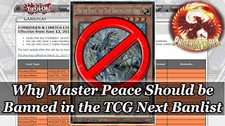 Yu-Gi-Oh! Why Master Peace Should Be Banned in the TCG! (In my opinion obviously)