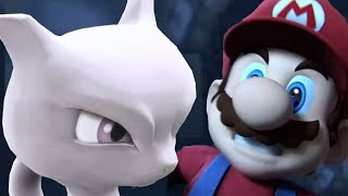 getlinkyoutube.com-Super Smash Bros 4 All Cutscenes / All Character Trailers | Wii U and 3DS 【1080p HD】 +Mewtwo