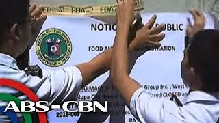 TV Patrol: Belo pharmacy sa Alabang, ipinasara ng FDA