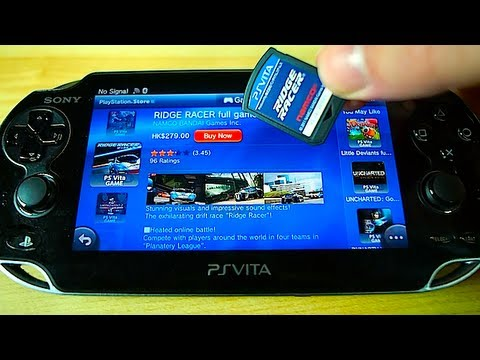 PS VITA Review Part 5 - Browser & PSN Store