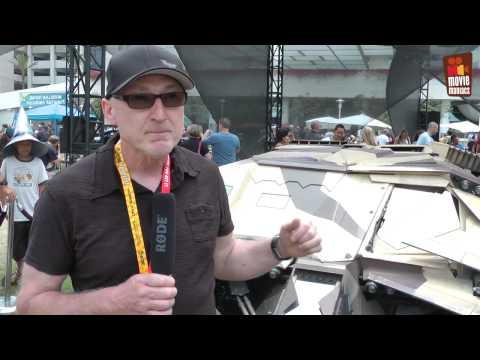 The Dark Knight Rises | Batmobile featurette (2012) Comic-Con
