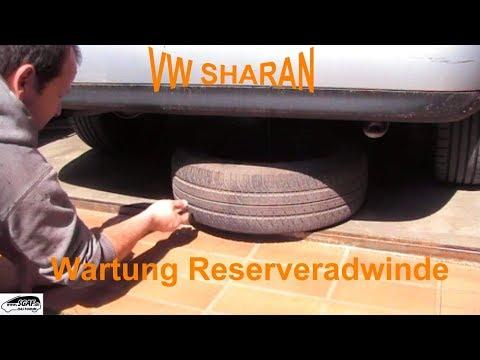 VW Sharan Reserverad