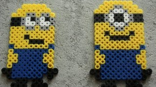 getlinkyoutube.com-Hama / Perler Beads - Minion