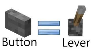 getlinkyoutube.com-Cara membuat button agar bekerja seperti lever MINECRAFT