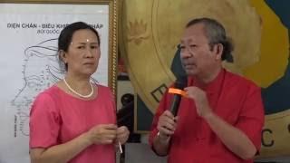 dienchan.com GSTS Bùi Quốc Châu hướng dẫn cách gạch mặt để chữa bệnh cảm mạo