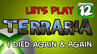 getlinkyoutube.com-Terraria Adventures: Xbox 360 - I Died Again and Again - Part 12